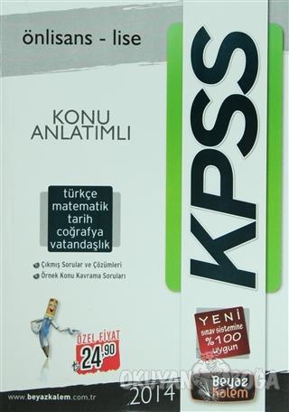 2014 KPSS Önlisans - Lise Konu Anlatımlı Türkçe / Matematik / Tarih /