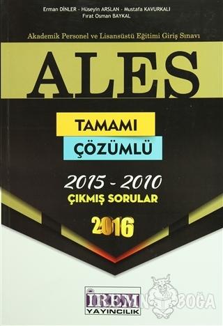 2016 ALES Tamamı Çözümlü Çıkmış Sorular
