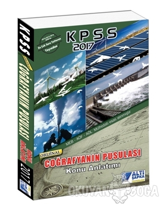 2017 KPSS Coğrafyanın Pusulası Konu Anlatımı - Komisyon - Altı Şapka Y
