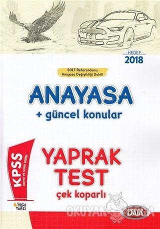 2018 KPSS Anayasa Güncel Konular Çek Koparlı Yaprak Test