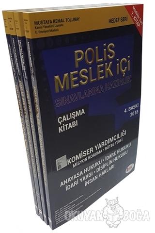 2018 Polis Meslek İçi Sınavlarına Hazırlık Modüler Set (4 Kitap Takım)