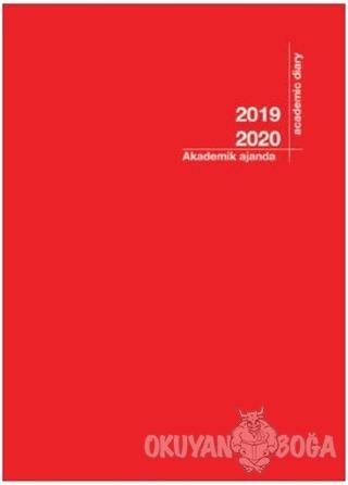 2019-2020 Akademik Ajanda Kırmızı (3056)