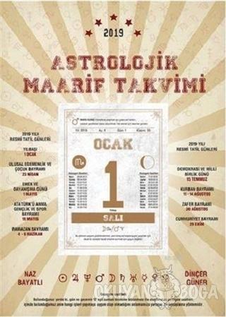 2019 Astrolojik Maarif Takvimi - Dinçer Güner - Destek Yayınları