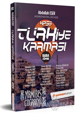 2019 KPSS Türkiye Karması Baba Zümre Coğrafya 25 Deneme Sınavı Tamamı Çözümlü