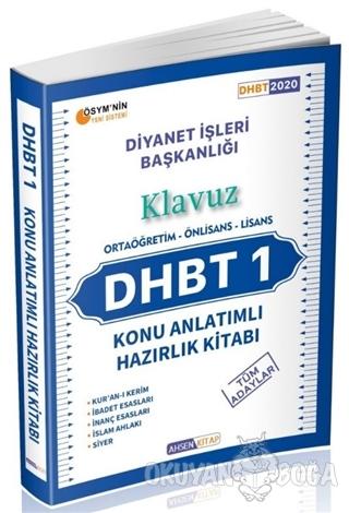 2020 DHBT 1 Konu Anlatımlı Hazırlık Kitabı