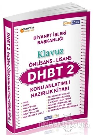 2020 DHBT 2 Önlisans - Lisans Konu Anlatımlı Hazırlık Kitabı