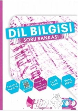 2020 Dil Bilgisi Özel Konu Anlatımlı Soru Bankası