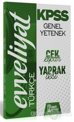 2020 Evveliyat KPSS Genel Yetenek Türkçe Çek Kopar Yaprak Test
