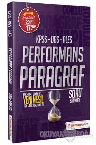 2020 KPSS DGS ALES Performans Paragraf Soru Bankası