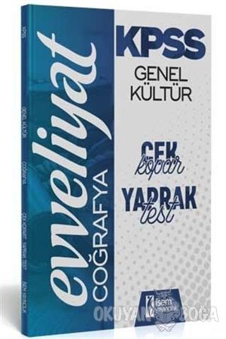 2020 KPSS Genel Kültür Coğrafya Çek Kopar Yaprak Test