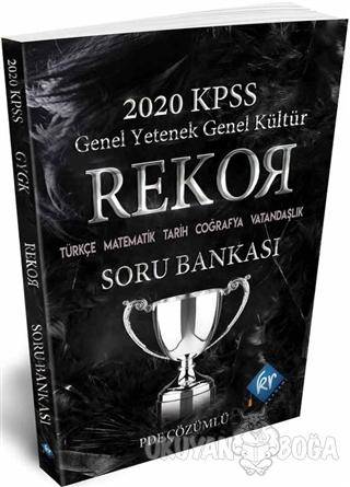 2020 KPSS Genel Yetenek Genel Kültür Tüm Dersler Rekor Soru Bankası