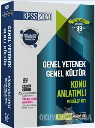 2020 KPSS Genel Yetenek Genel Kültür Video Destekli Konu Anlatımlı Modüler Set (6 Kitap Takım)