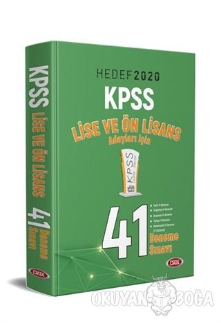 2020 KPSS Lise ve Ön Lisans Adayları İçin 41 Deneme Sınavı