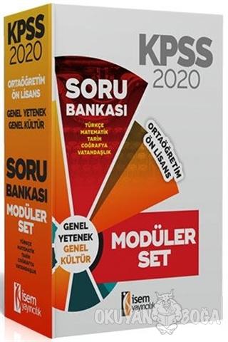 2020 KPSS Ortaöğretim Ön Lisans Soru Bankası Seti - Kolektif - İSEM Ya