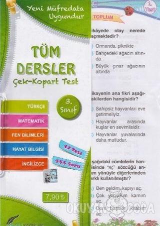 3.Sınıf Tüm Dersler Çek Kopart Yaprak Test - Kolektif - Bilgili Yayınl