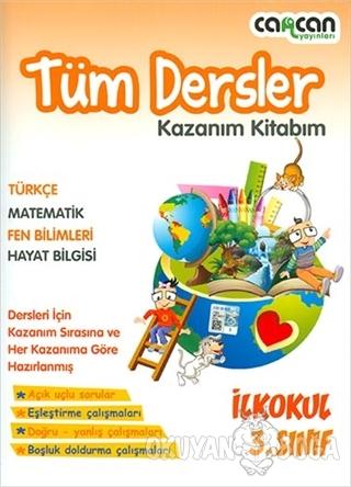 3. Sınıf Tüm Dersler Kazanım Kitabım - Kolektif - Cancan Yayınları