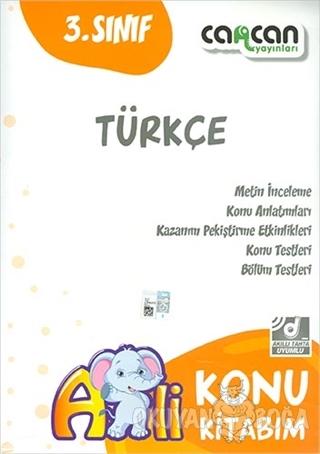 3. Sınıf Türkçe Konu Kitabım - Kolektif - Cancan Yayınları