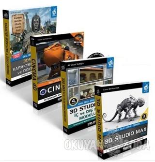 3D Tasarım Uzmanlığı Seti - 2 (4 Kitap Takım) - Caner Bayraktar - Kodl