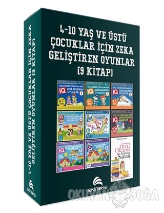 4-10 Yaş ve Üstü Çocuklar İçin Zeka Geliştiren Oyunlar (9 Kitap) - Kol