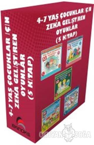 4-7 Yaş Çocuklar İçin Zeka Geliştiren Oyunlar (5 Kitap) - Kolektif - E