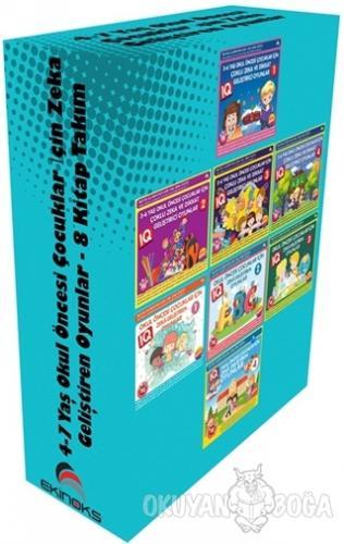 4-7 Yaş Okul Öncesi Çocuklar İçin Zeka Geliştiren Oyunlar (8 Kitap Takım)