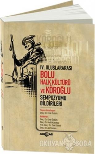 4. Uluslararası Bolu Halk Kültürü ve Köroğlu