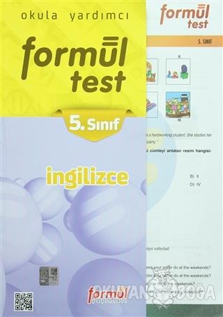 5. Sınıf İngilizce Yaprak Test - Kolektif - Formül Yayınları - Ders Ki