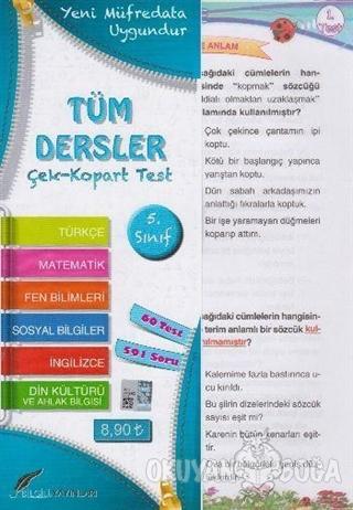 5.Sınıf Tüm Dersler Çek Kopart Yaprak Test - Kolektif - Bilgili Yayınl