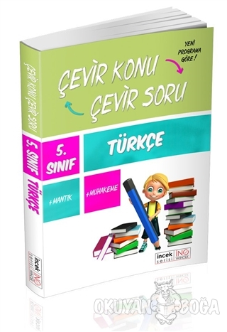 5. Sınıf Türkçe Çevir Konu Çevir Soru - Kolektif - İnovasyon Yayınları