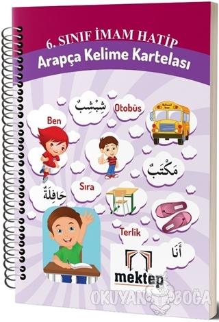 6. Sınıf Arapça Kelime Kartelası - Kolektif - Mektep Yayınları