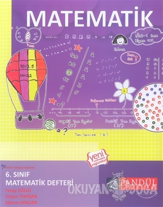 6. Sınıf Matematik Defteri