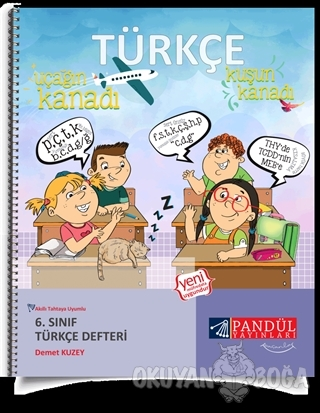 6. Sınıf Türkçe Defteri