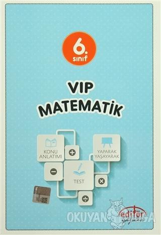 6. Sınıf VIP Matematik Konu Anlatımlı - Ramazan Yıldız - Editör Yayıne