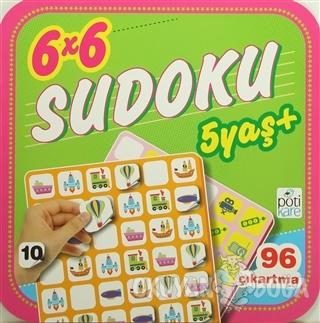 6x6 Sudoku 10 - Kolektif - Pötikare Yayıncılık