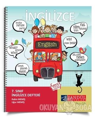 7. Sınıf İngilizce Defteri