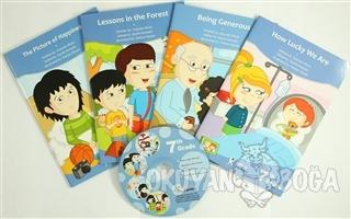 7. Sınıf İngilizce Hikaye Seti (4 Kitap + 1 CD) - Zeyneb Alver - Kelim
