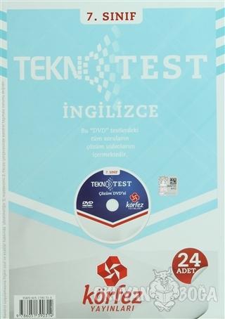 7. Sınıf İngilizce Tekno Poşet Test Çözüm (DVD'li) - Kolektif - Körfez