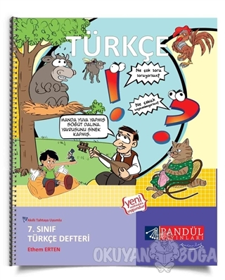 7. Sınıf Türkçe Defteri