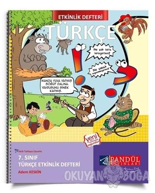 7. Sınıf Türkçe Etkinlik Defteri