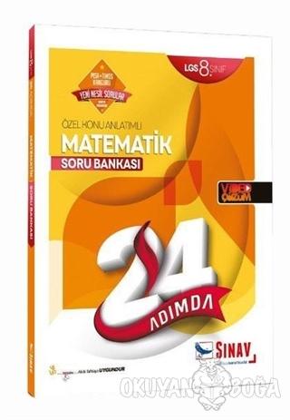 8. Sınıf 24 Adımda Matematik Soru Bankası - Kolektif - Sınav Yayınları