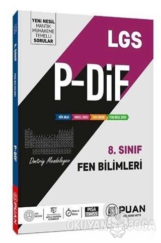 8. Sınıf LGS Fen Bilimleri P-DİF Konu Anlatım Föyleri - Kolektif - Pua