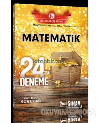 8. Sınıf LGS Matematik 24 Ayar Deneme