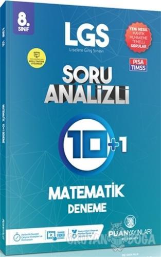 8. Sınıf LGS Matematik Soru Analizli 10 Artı 1 Deneme - Kolektif - Pua
