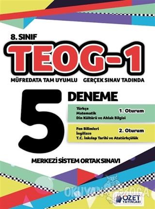 8. Sınıf TEOG-1 5 Deneme - Kolektif - Edam - Özet Yayınları