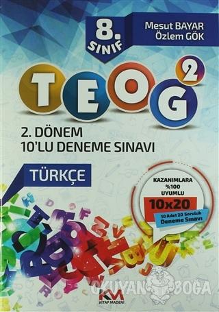 8. Sınıf TEOG - 2 10'lu Deneme Sınavı - Mesut Bayar - Kitap Madeni Yay