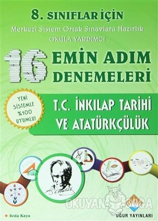 8. Sınıflar İçin T.C. İnkılap Tarihi ve Atatürkçülük Emin Adım Denemel