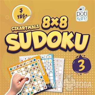 8x8 Çıkartmalı Sudoku 3 - Kolektif - Pötikare Yayıncılık