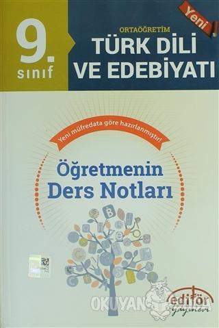 9. Sınıf Ortaöğretim Türk Edebiyatı Öğretmenin Ders Notları - Metin Se