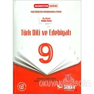 9. Sınıf Türk Dili ve Edebiyatı Akordiyon Kitap