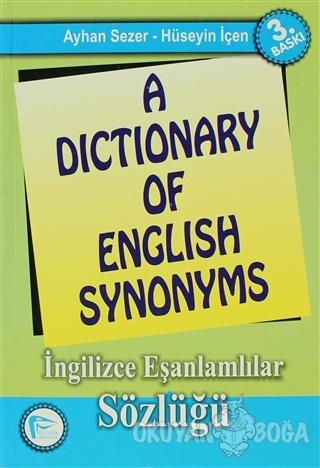 A Dictionary of English Synonyms / İngilizce Eşanlamlılar Sözlüğü - Ay